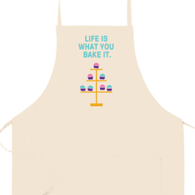 Apron: Life is what you bake it. Thumbnail